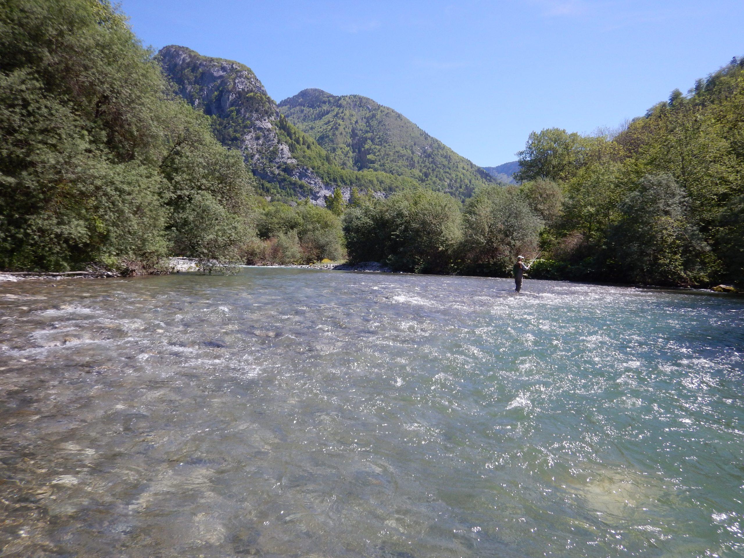 rivière à truite de Haute-Savoie