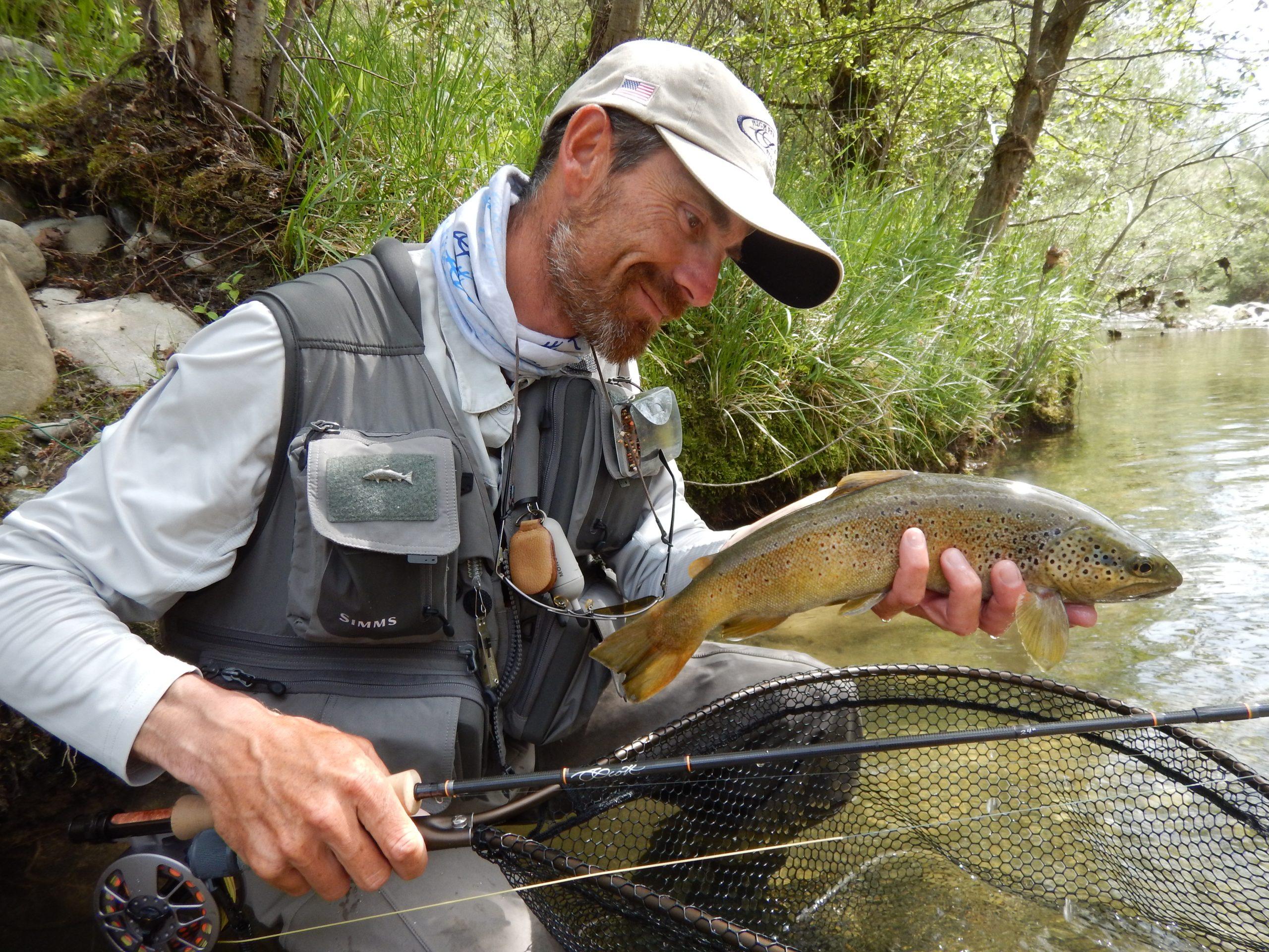 Ludovic Briet moniteur de pêche en Haute-Savoie
